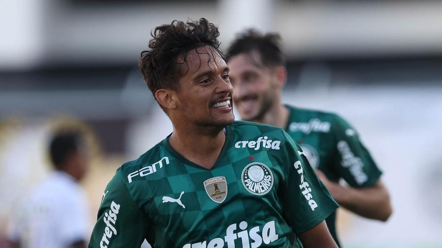 Gustavo Scarpa enfim tem conseguido se firmar como titular no Palmeiras - Cesar Greco/ Palmeiras