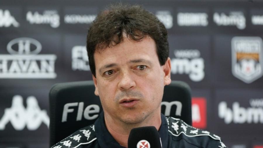Fernando Diniz, em apresentação no Vasco - Rafael Ribeiro / Vasco