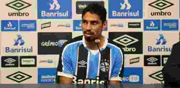 Wallace estava emprestado ao Gaziantepspor, da Turquia - Divulgação/Grêmio