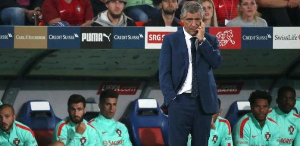 Técnico Fernando Santos celebra terceiro lugar na Copa das Confederações