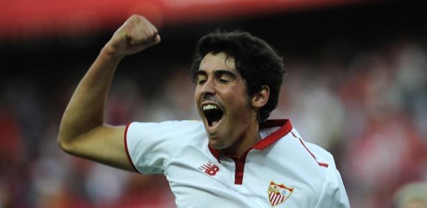 Carlos Fernández deu a vitória ao Sevilla em virada dramática sobre o Las Palmas