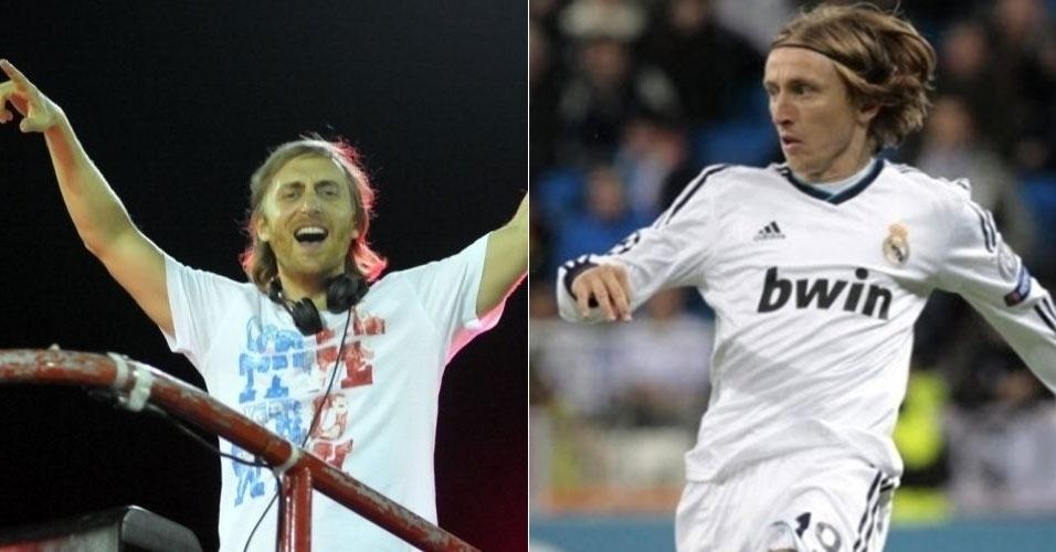 David Guetta e Modric