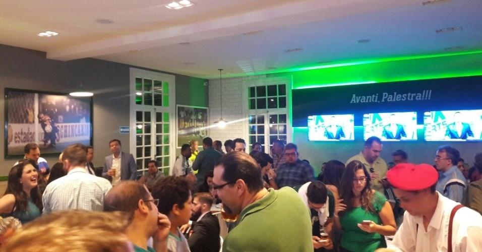 Parte interna Cantina Palmeiras Avanti