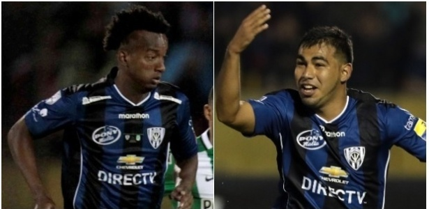 Orejuela (e) e Sornoza (d) serão os reforços do Fluminense para 2017