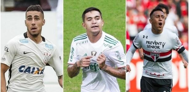 Corinthians, Palmeiras e São Paulo: no regulamento, apenas dois tem a 'casa' garantida