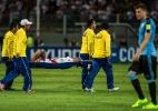 Meia são-paulino, Cueva se lesiona em jogo do Peru e deixa gramado chorando - ERNESTO BENAVIDES/AFP