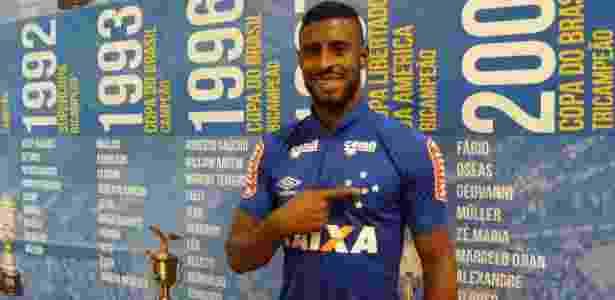 Lateral direito de 25 anos foi um dos destaques do homônimo Cruzeiro-RS em 2017 - Cruzeiro/Divulgação
