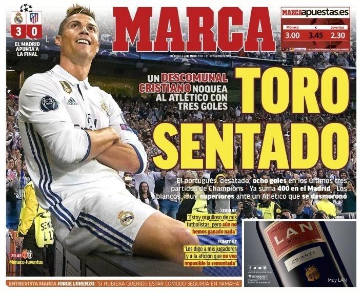 Marca repercute atuação de Cristiano Ronaldo