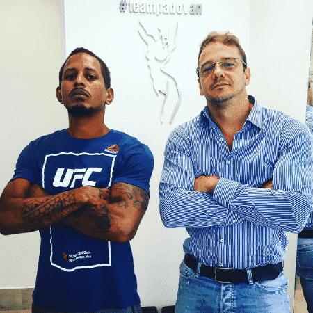 Parceria: Johnny e ex-BBB Rogério Padovan - Reprodução/Instagram - Reprodução/Instagram