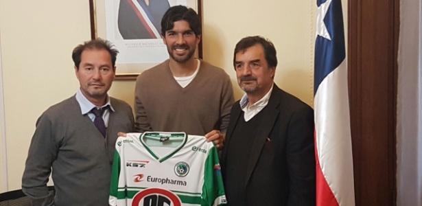 Em 2017, uruguaio já assinou com Bangu, Central Español e Dep. Puerto Montt (foto)