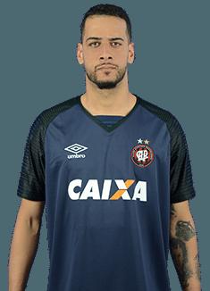 Leonardo da Silva Vieira, goleiro do Atlético-PR