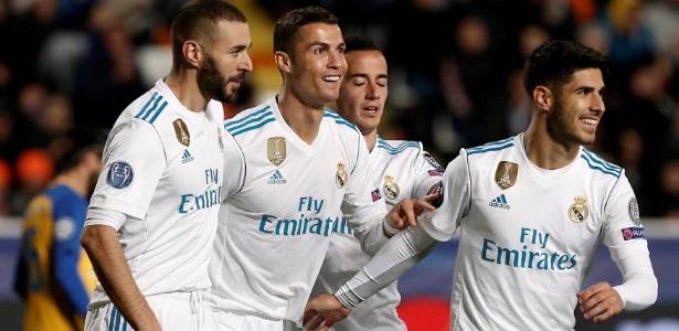 Real Madrid não deu chances para o Apoel e carimbou classificação