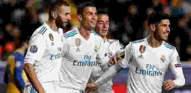 Real Madrid não deu chances para o Apoel e carimbou classificação - Alkis Konstantinidis/Reuters