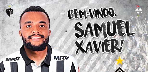 Samuel Xavier foi emprestado pelo Sport ao Atlético-MG até o fim de 2018