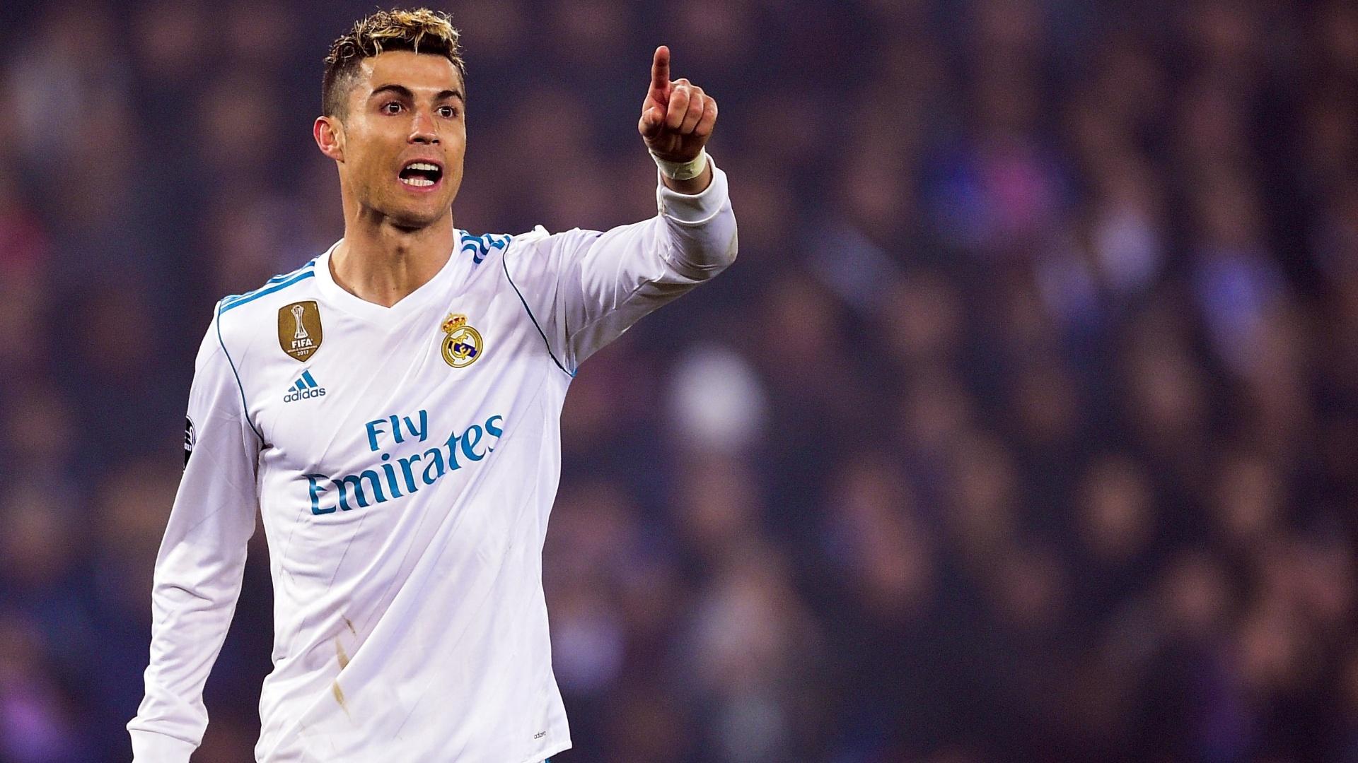 Cristiano Ronaldo, atacante do Real Madrid