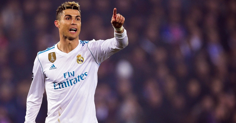 Cristiano Ronaldo, atacante do Real Madrid