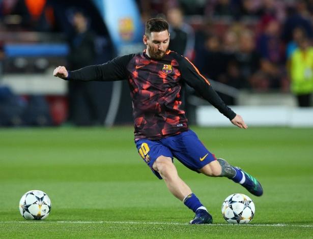 Presença de Messi na partida deste sábado não foi garantida pelo técnico do Barcelona