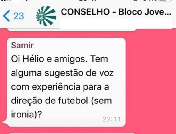 """Conversa do presidente com torcedores sobre gerente de futebol vazou e rendeu críticas: """"fora de contexto"""" - Reprodução"""