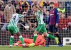 Messi marca dois em retorno, mas não evita derrota do Barça para o Betis - Josep Lago/AFP
