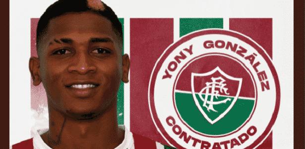 Fluminense anuncia contratação do