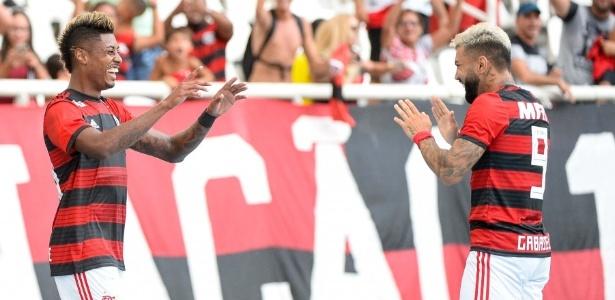 Bruno Henrique e Gabigol vão a campo na noite desta terça - Alexandre Vidal / Flamengo