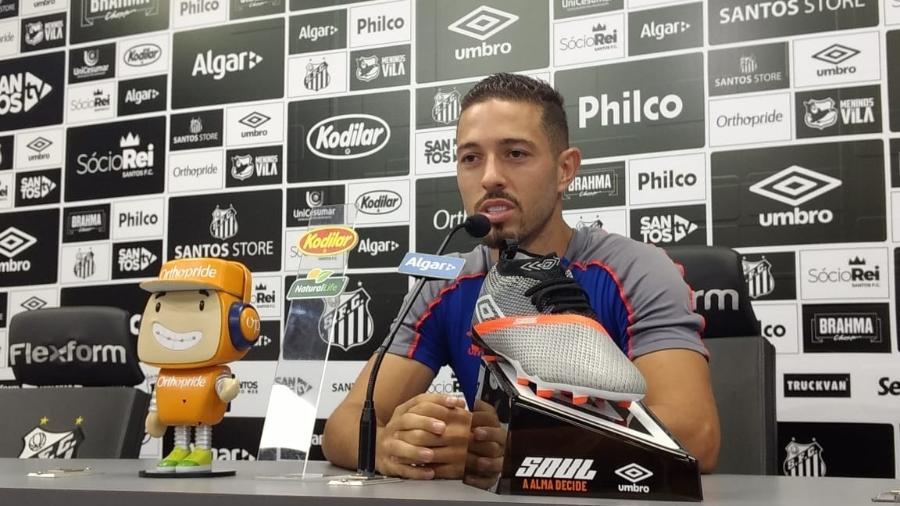 e6ac5b883fa57 Jean Mota diz que Santos é favorito no clássico contra o Palmeiras ...