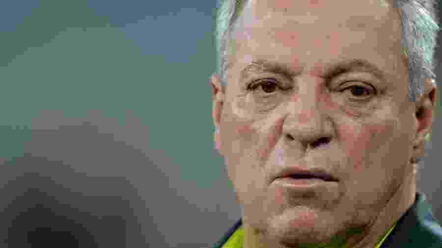 Técnico Abel Braga sofreu uma arritmia durante a semifinal da Taça Rio contra o Fluminense - Thiago Ribeiro/AGIF