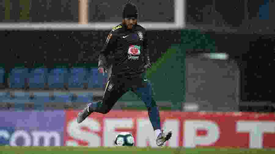 Neymar foi acusado de estupro por uma mulher e está sendo investigado - Lucas Figueiredo/CBF