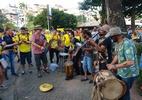 """Baianos e argentinos entram no ritmo da Colômbia na Fonte Nova: """"Aventura"""" - Gabriel Carneiro/UOL"""