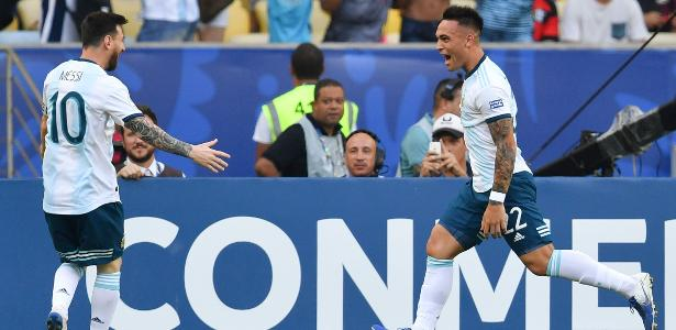 Companheiro de Messi na seleção, Lautaro diz: 'Está em outro nível'
