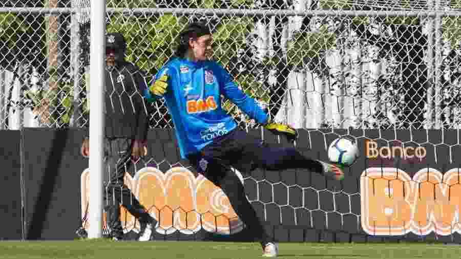 Cássio deve voltar ao gol do Corinthians após disputa da Copa América - Daniel Augusto Jr./Ag. Corinthians