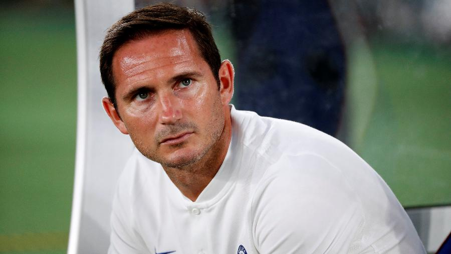 Ídolo como jogador, inglês ficou por menos de dois anos comandando a equipe do Chelsea - REUTERS/Issei Kato