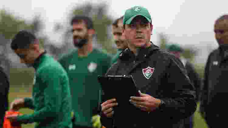 Fernando Diniz é o técnico do Fluminense - Lucas Merçon/Fluminense FC - Lucas Merçon/Fluminense FC