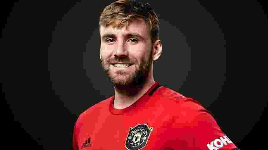 Luke Shaw, defensor do Manchester United, acredita que o rival mais complicado seja Moses - Divulgação/Site oficial do Manchester United