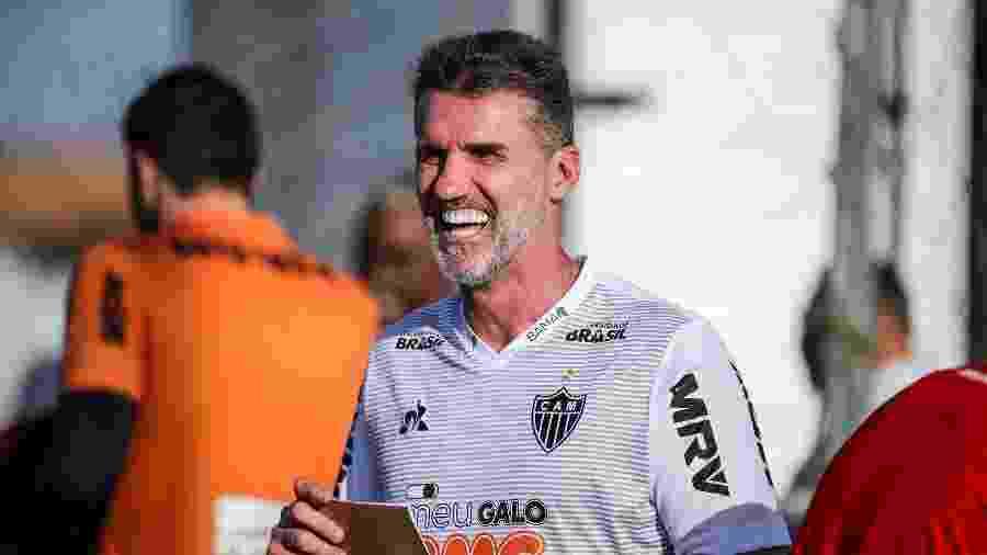 Treinador firmou um contrato de três meses com o Galo e não está garantido para temporada de 2020 - Bruno Cantini/Atlético