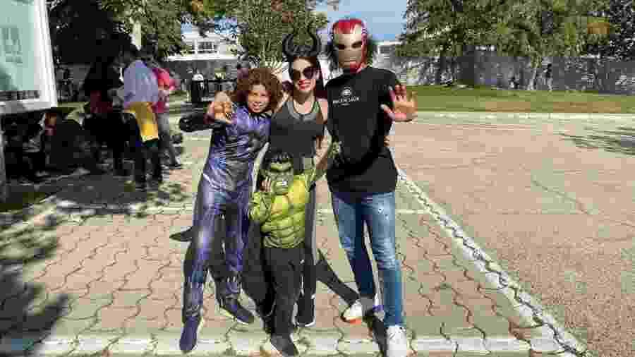 Marcelo e família curtem o Halloween - Reprodução/Instagram