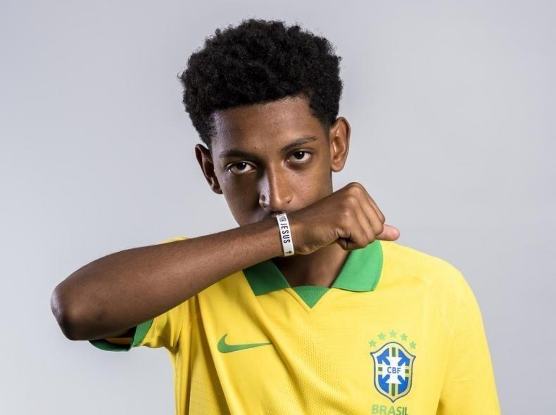 Talles Costa, volante do São Paulo e da seleção brasileira sub-17