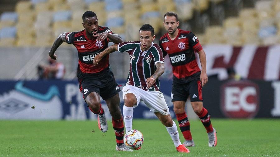 Dodi foi destaque do Fluminense na reta final do Campeonato Carioca - Lucas Merçon/Fluminense FC