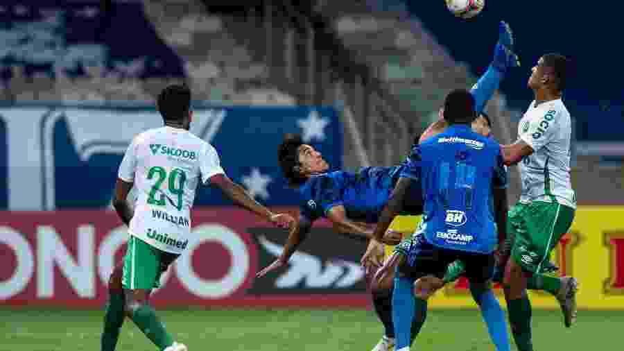 No primeiro turno da Série B, o Cruzeiro foi surpreendido em casa pela Chapecoense ao perder por 1 a 0 - Bruno Haddad/Cruzeiro