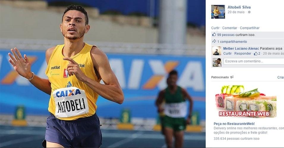 Altobeli Santos - atletismo