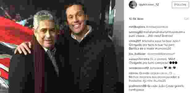 Júlio César/Instagram