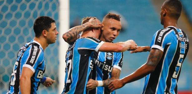 Após contestações, o Grêmio conseguiu superar a desconfiança no Brasileiro - Lucas Uebel/Gremio FBPA