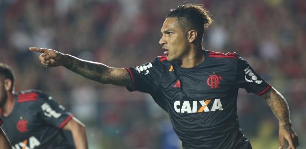 Guerrero voltou a viver bom momento e tem ajudado na recuperação do Flamengo