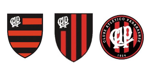 Atlético-PR já teve escudo igual ao do Fla. E só mudou de vez há 2 décadas b2f73ebdbd53a