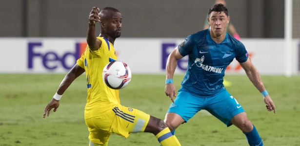 Giuliano tem sido um dos principais jogadores do Zenit na Liga Europa - Jack Guez/AFP