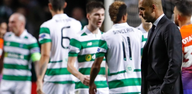 Manchester City voltou da Escócia com um empate por 3 a 3