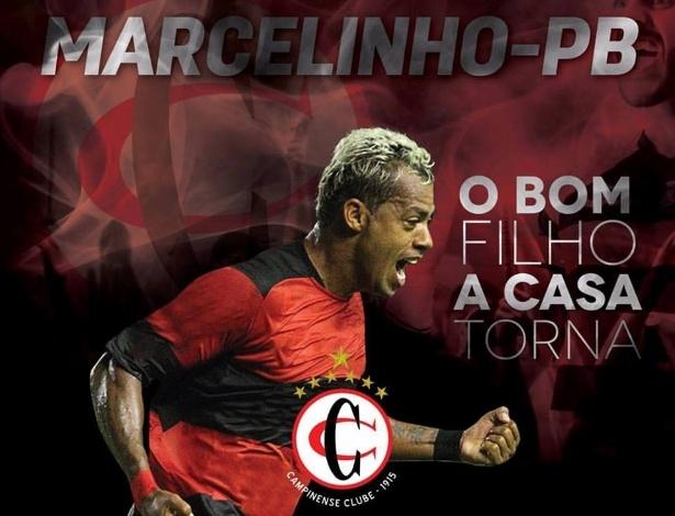 Campinense anuncia contratação de Marcelinho Paraíba