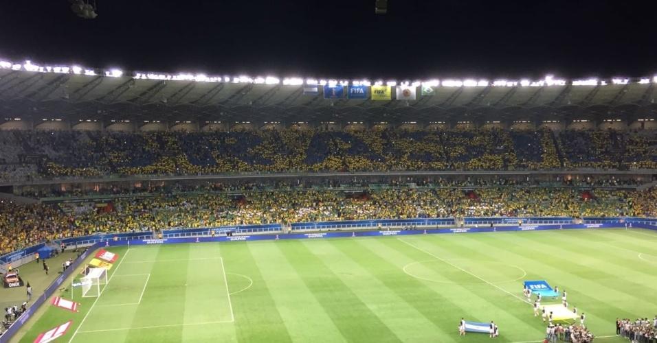 Mosaico da seleção brasileira fica incompleto antes do clássico contra Argentina