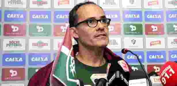 Presidente Pedro Abad quer eleição antecipada no Fluminense - NELSON PEREZ/FLUMINENSE F.C.