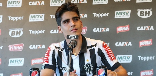 Gustavo Blanco está regularizado e pode estrear na Libertadores pelo Atlético-MG